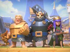 Los tres campeones iniciales de Clash Royale