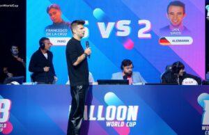 Ibai y Piqué en el Mundial de Globos