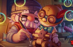 Gepetto Gale y Pinocho Carl